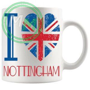 I Love Nottingham Mug