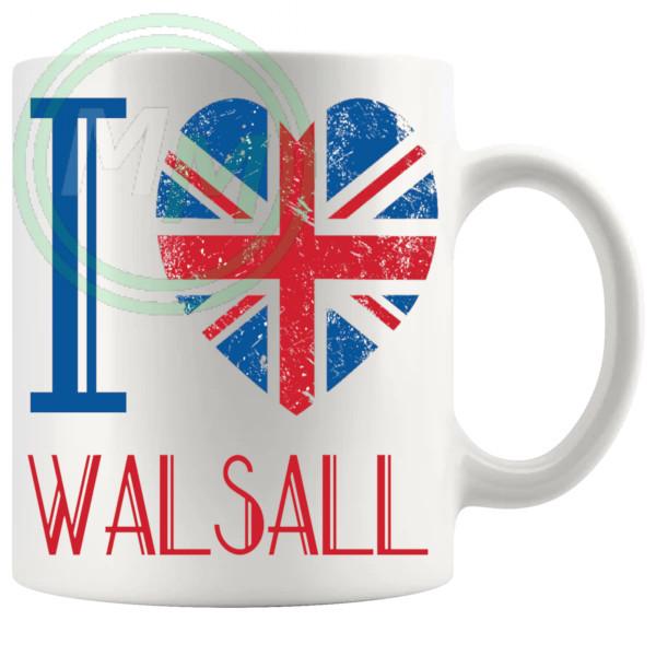 I Love Walsall Mug
