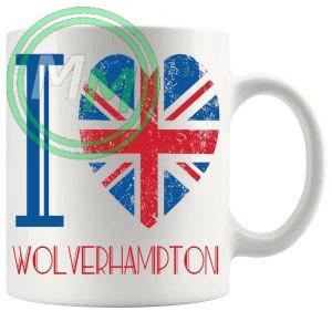 I Love Wolverhampton Mug