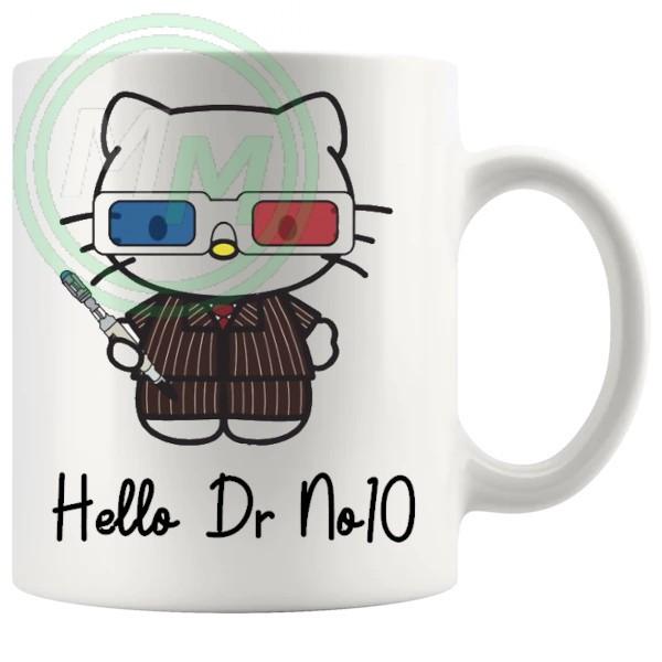hello dr no10 mug