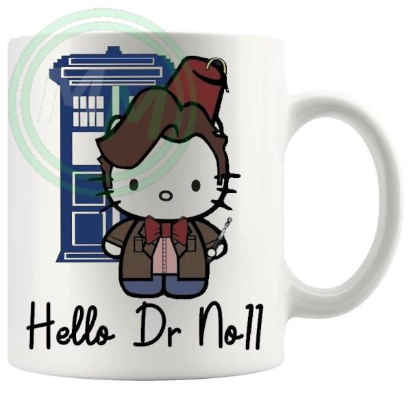 hello dr no11 mug