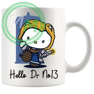 hello dr no13 mug