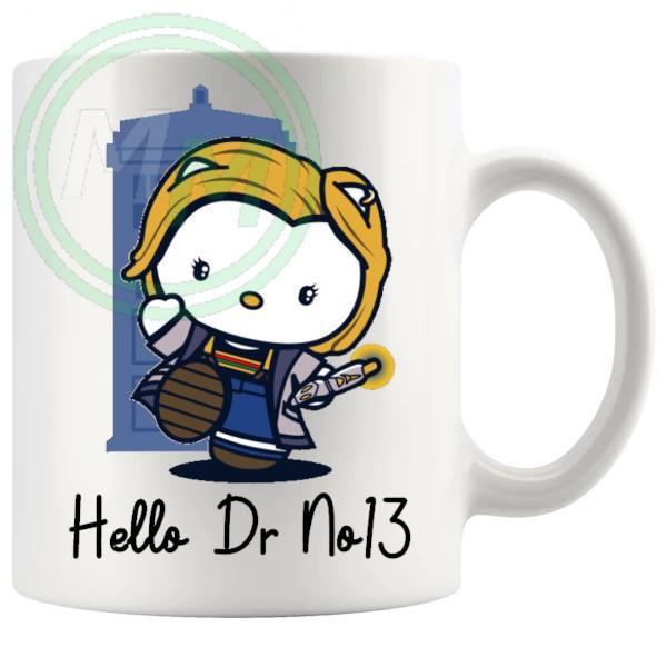 hello dr no13 mug