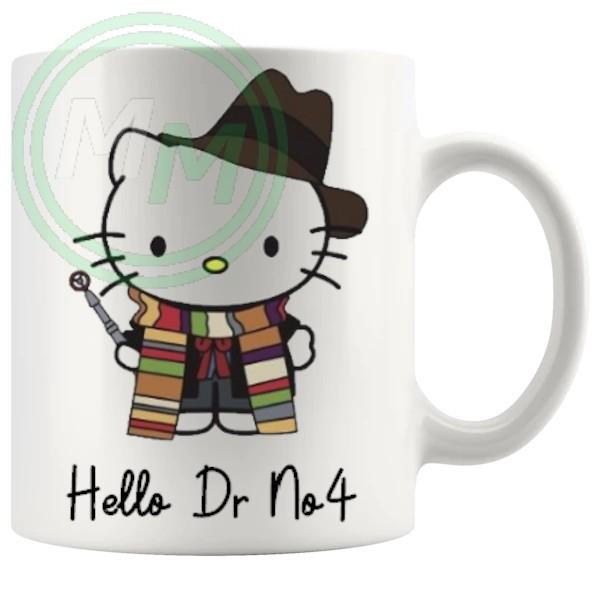 hello dr no4 mug
