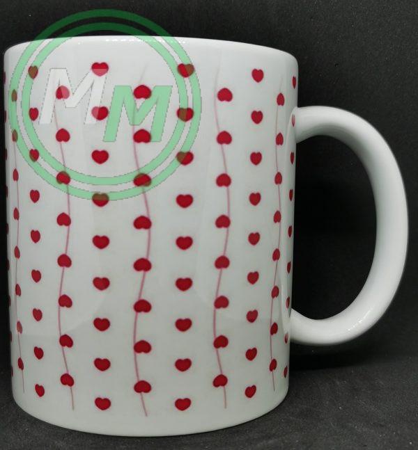 Hearts Pattern Mug Style 4 Pic 2