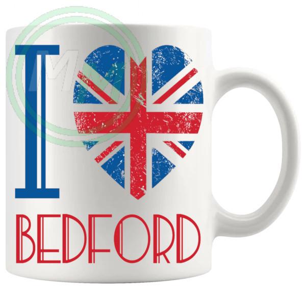 I Love Bedford Mug