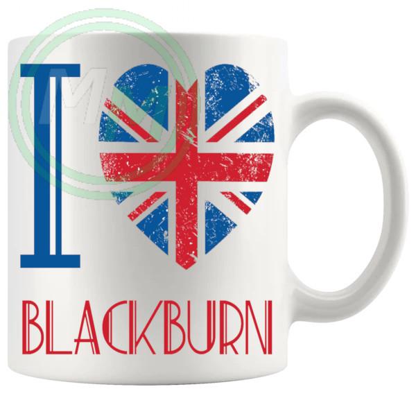 I Love Blackburn Mug