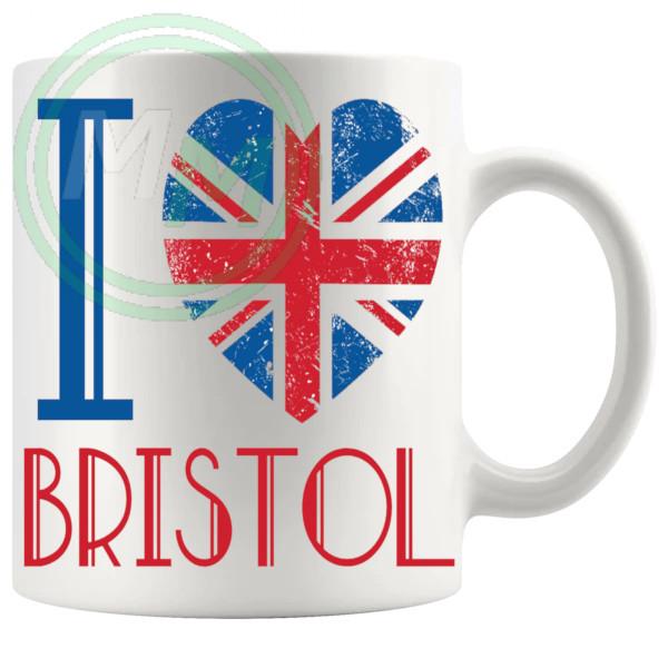 I Love Bristol Mug