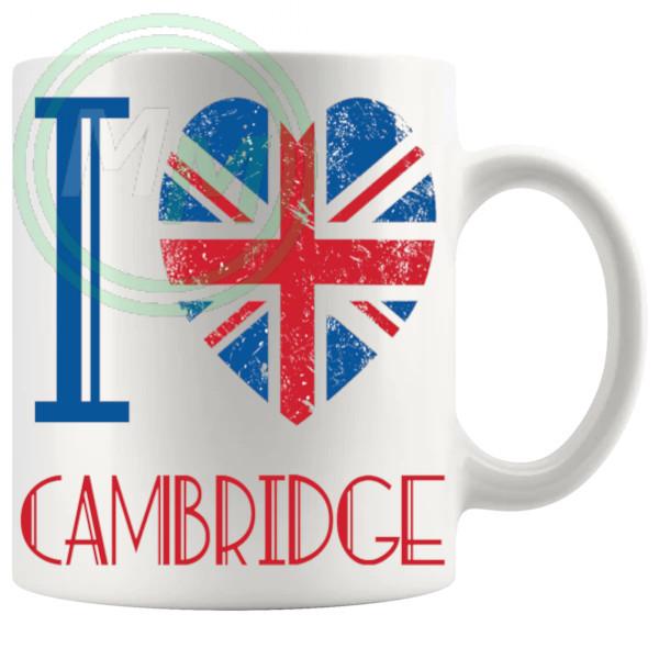 I Love Cambridge Mug