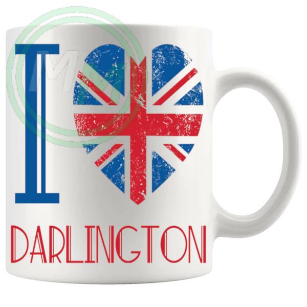 I Love Darlington Mug