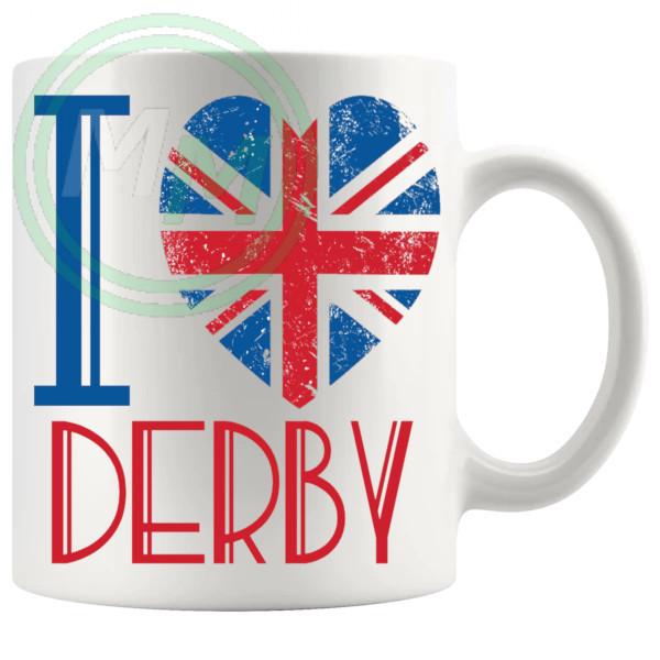 I Love Derby Mug