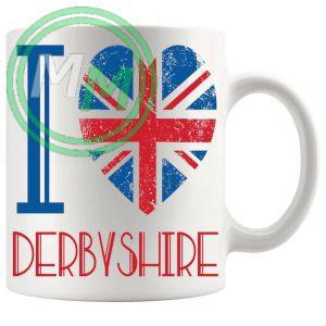 I Love Derbyshire Mug