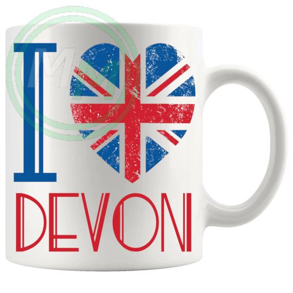 I Love Devon Mug