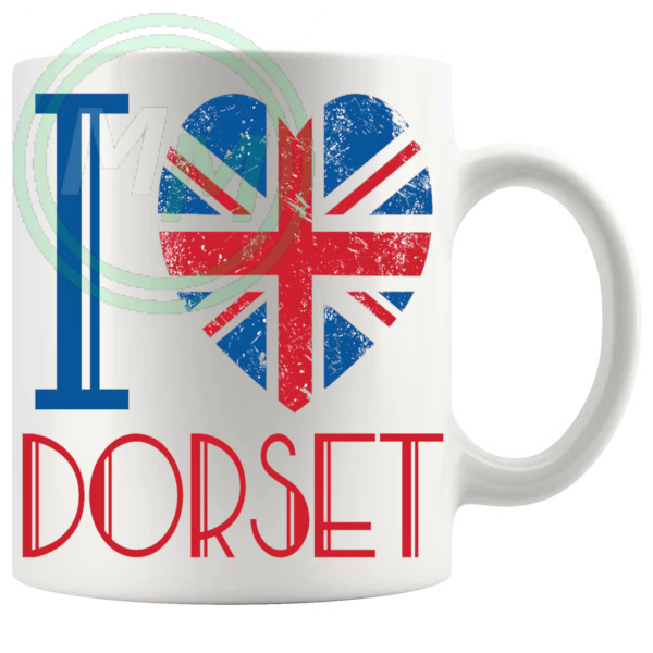 I Love Dorset Mug