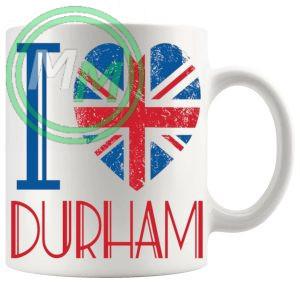 I Love Durham Mug