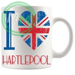 I Love Hartlepool Mug