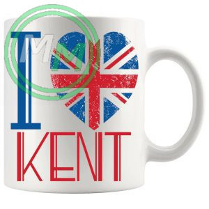I Love Kent Mug