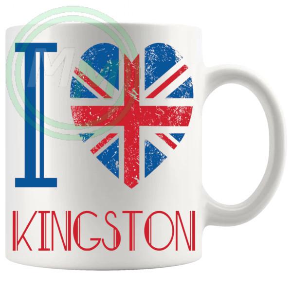 I Love Kingston Mug