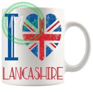 I Love Lancashire Mug
