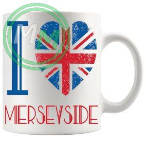 I Love Merseyside Mug