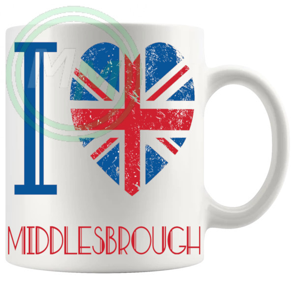 I Love Middlesbrough Mug