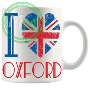 I Love Oxford Mug