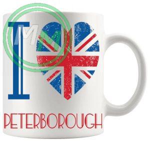 I Love Peterborough Mug