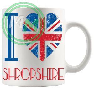 I Love Shropshire Mug