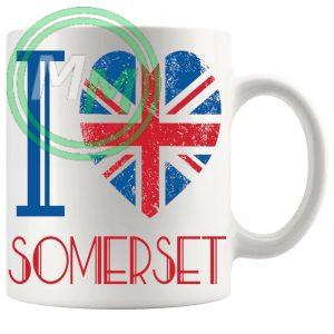 I Love Somerset Mug