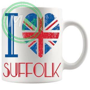I Love Suffolk Mug