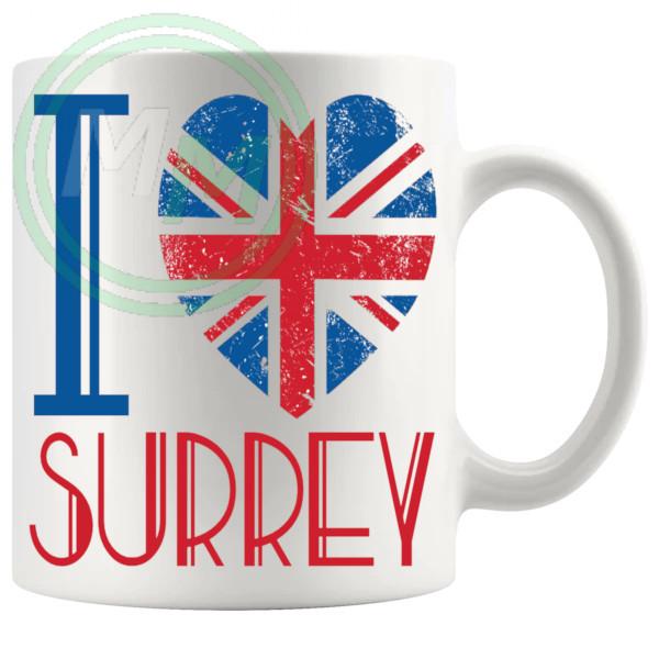 I Love Surrey Mug