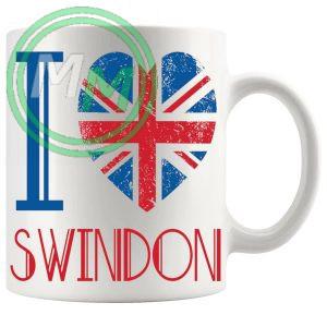 I Love Swindon Mug