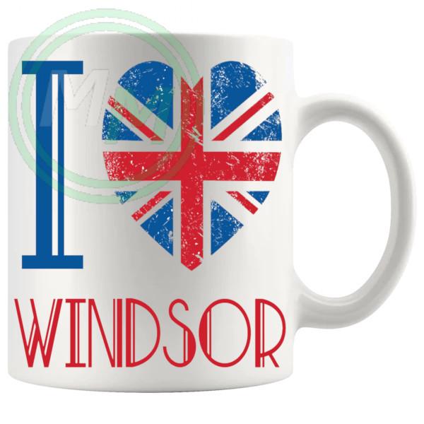 I Love Windsor Mug