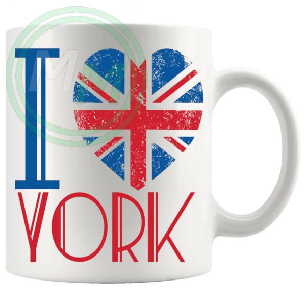 I Love York Mug