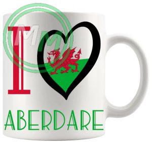 I Love Aberdare Mug