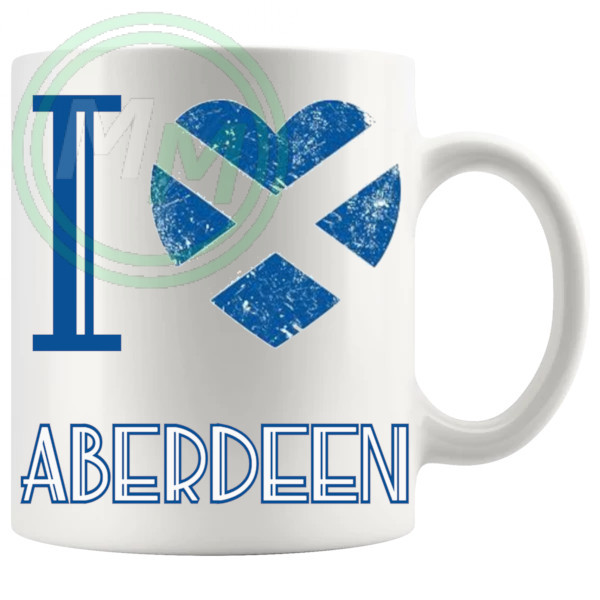 I Love Aberdeen Mug