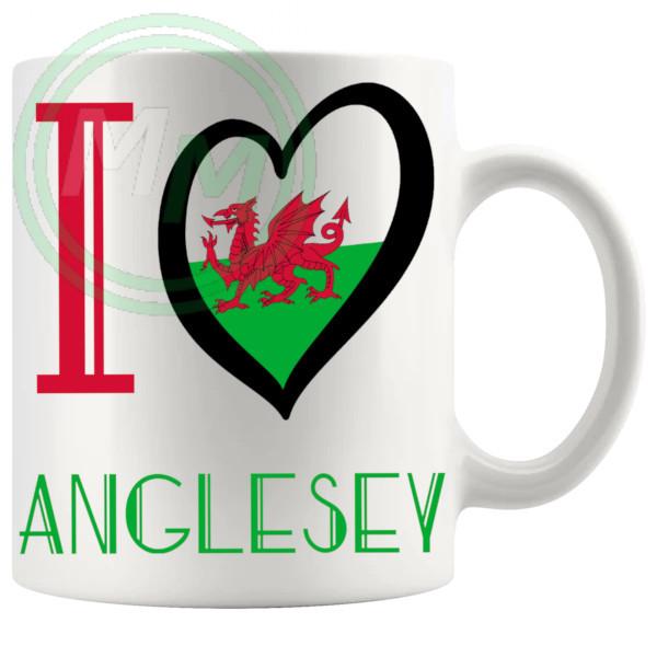 I Love Anglesey Mug