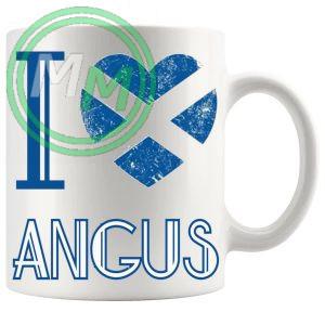 I Love Angus Mug