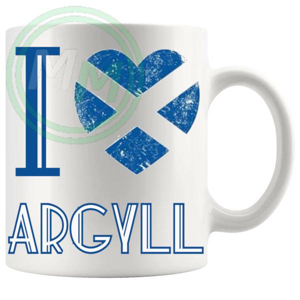 I Love Argyll Mug
