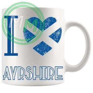 I Love Ayrshire Mug