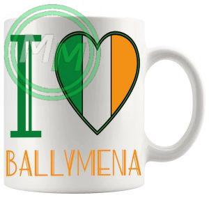 I Love Ballymena Mug