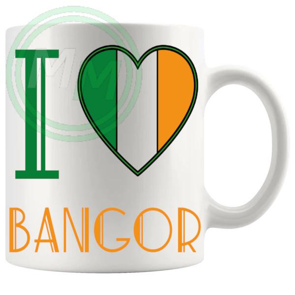 I Love Bangor Mug