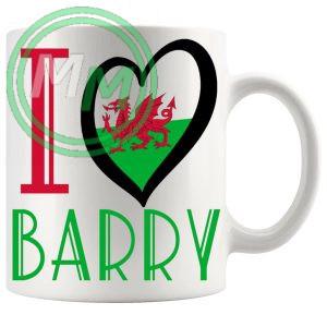 I Love Barry Mug