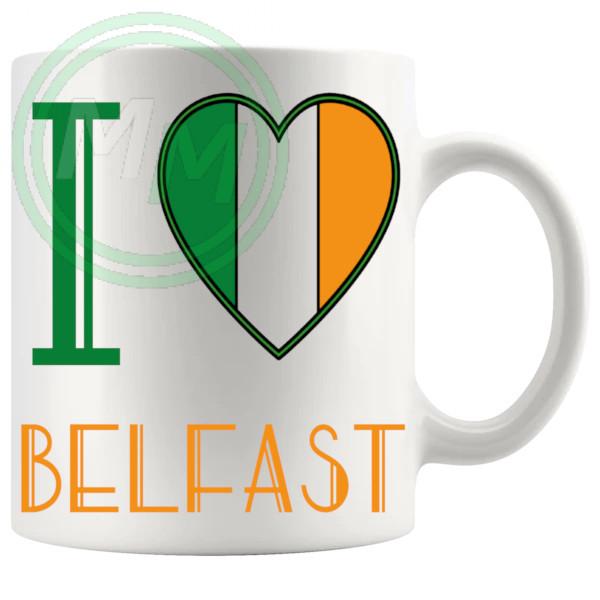 I Love Belfast Mug