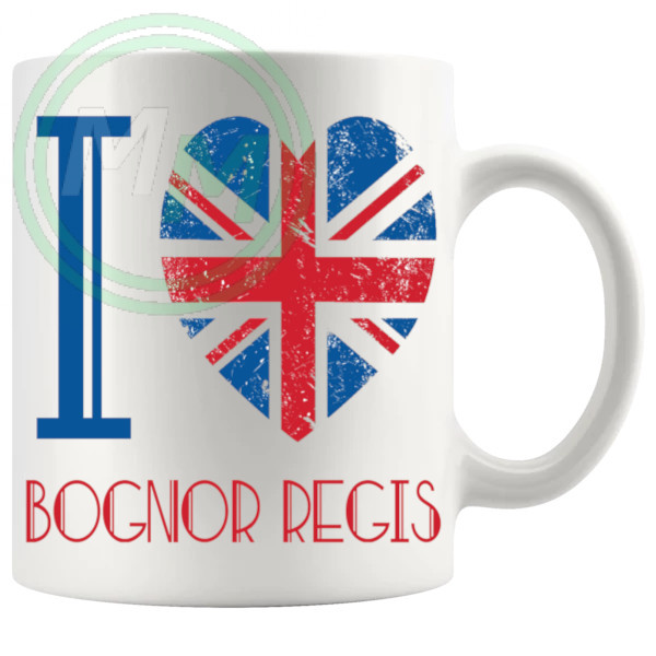 I Love Bognor Regis Mug