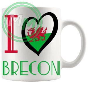 I Love Brecon Mug