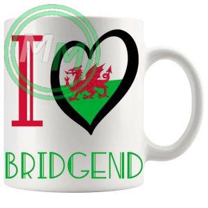 I Love Bridgend Mug