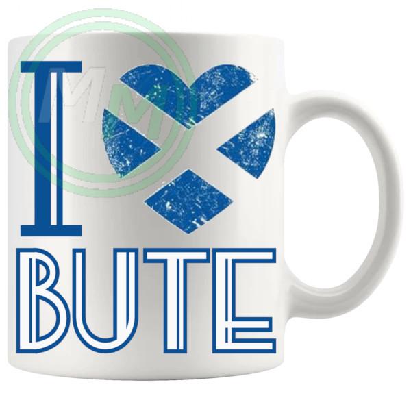 I Love Bute Mug