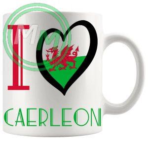 I Love Caerleon Mug
