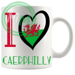 I Love Caerphilly Mug